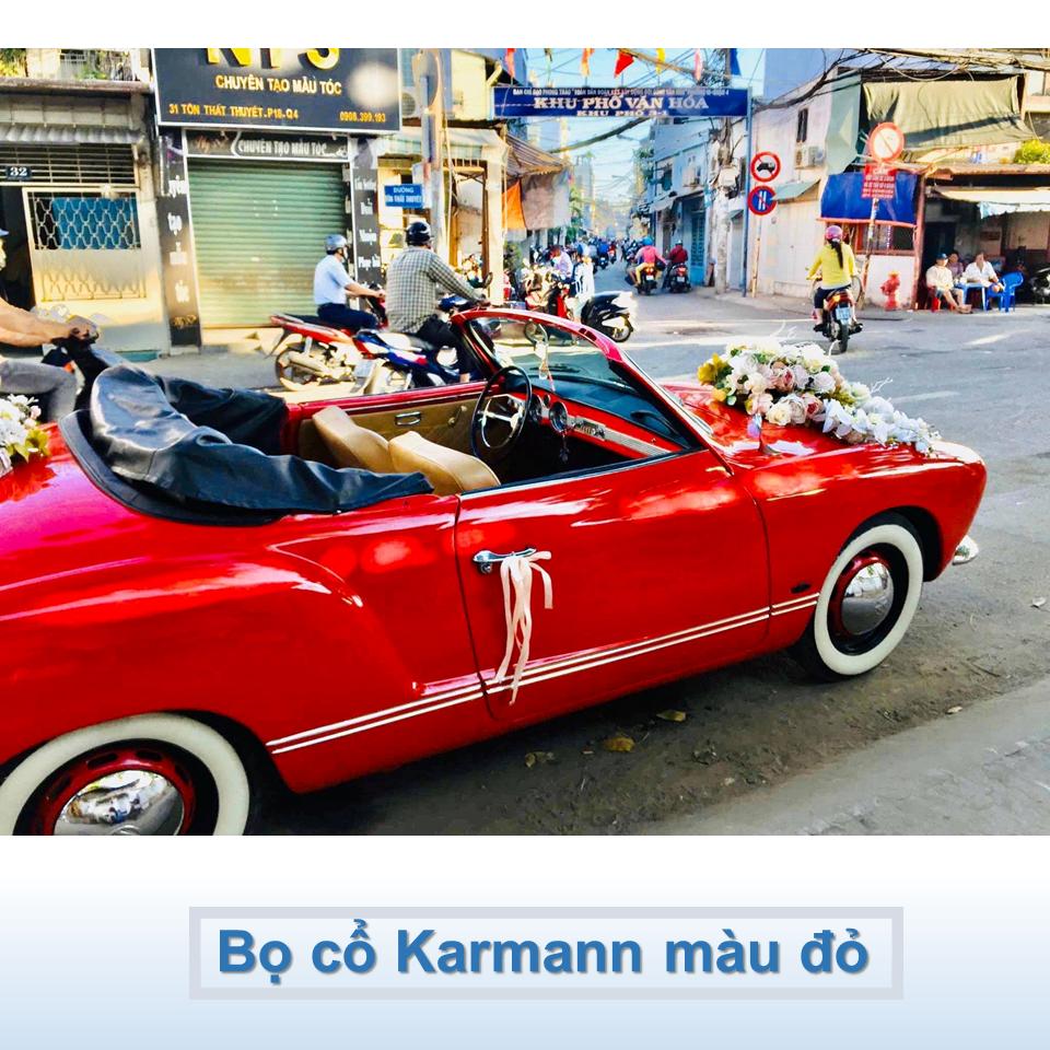 xe Karmann mui trần