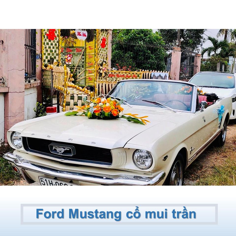 xe Ford Mustang 1967 mui trần