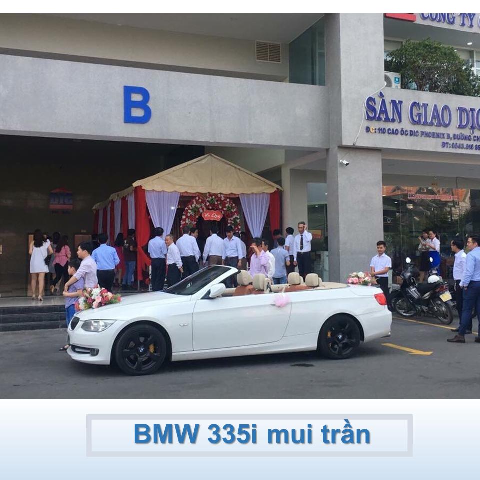 xe hoa BMW 335i mui trần