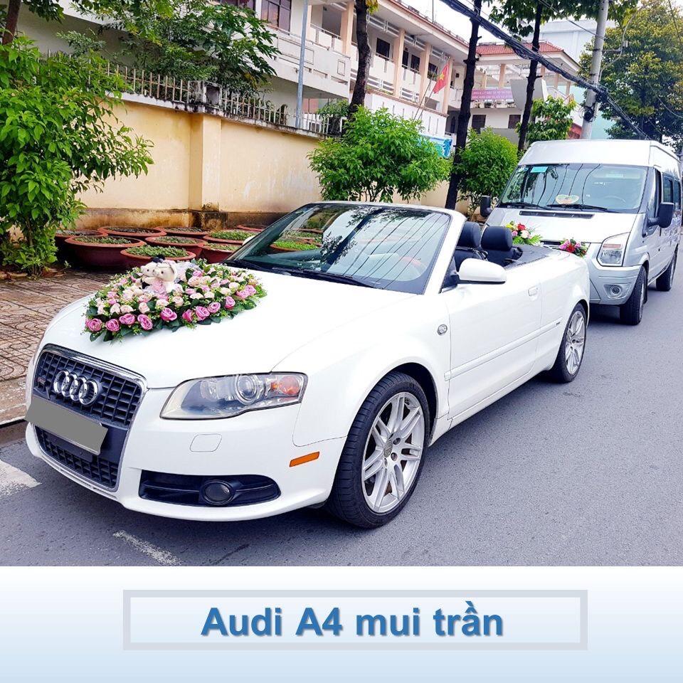 xe hoa Audi A4 mui trần
