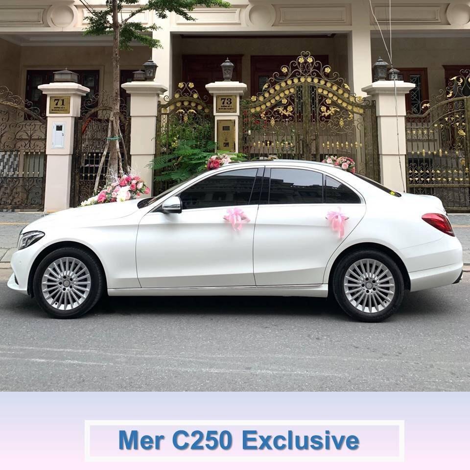 xe Mer C250 Exclusive trắng