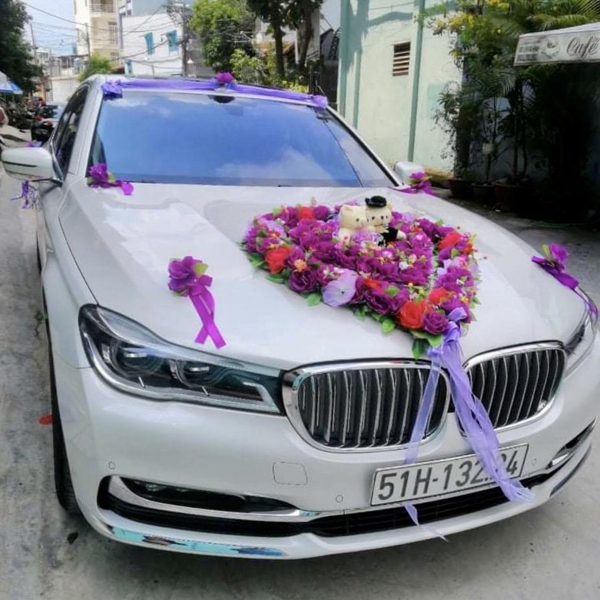 xe cưới BMW seriês 7 2020